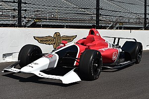 IndyCar Breaking news IndyCar unveils 2018 car ahead of Honda and Chevy test