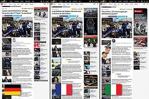 Speciale Motorsport.com Motorsport.com lancia l'innovativa edizione trilingue svizzera
