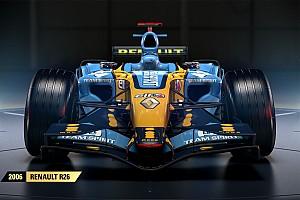 Симрейсинг Новость В игре F1 2017 появится чемпионская Renault Алонсо