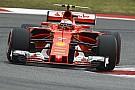 Le virage 3 a posé problème à Räikkönen