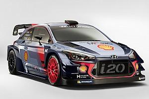 WRC Breaking news Hyundai unveils its 2017 WRC challenger