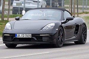 Automotive Breaking news Porsche 911 GT3-powered 718 Boxster Spyder in the works