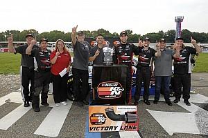 NASCAR Breaking news Former NASCAR Mexico champion Ruben Garcia Jr. wins first U.S. race