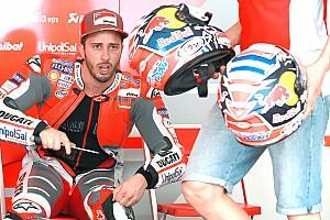 """MotoGP Noticias Dovizioso: """"Me he sentido todavía mejor que ayer sobre la Ducati"""""""