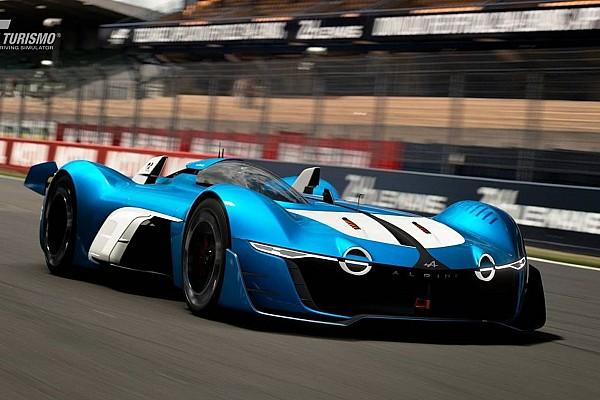 Jeux Video Actualités Alpine aura droit à sa Vision Gran Turismo
