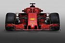 Відео: наклеювання логотипів на новий болід Ф1 Ferrari
