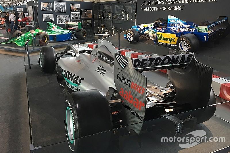 Inauguran una exhibición dedicada a Schumacher en Alemania