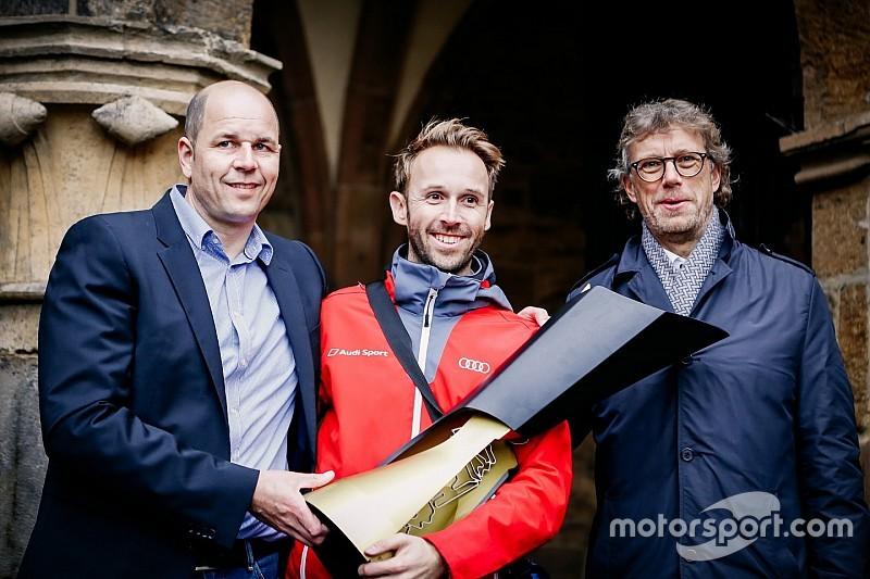 Die Feier geht weiter: DTM-Champion Rast mischt Minden auf