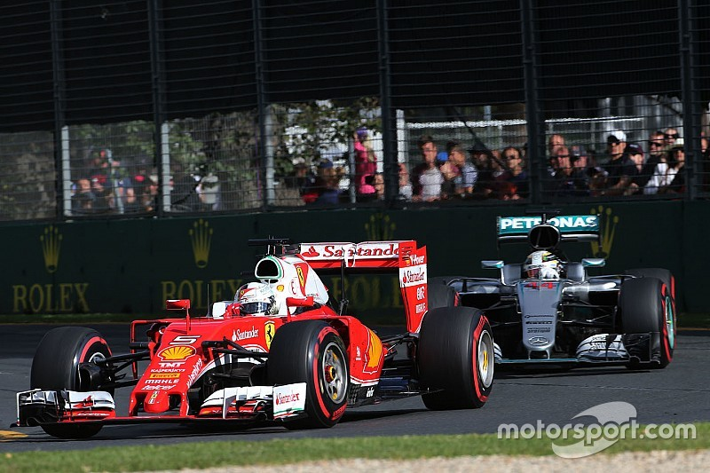 Mercedes are still the favourites, says Vettel
