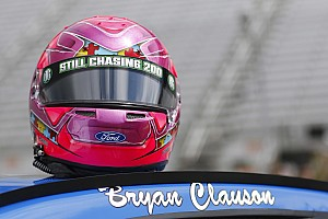 NASCAR Cup Interview Stenhouse driven by the memory of Bryan Clauson