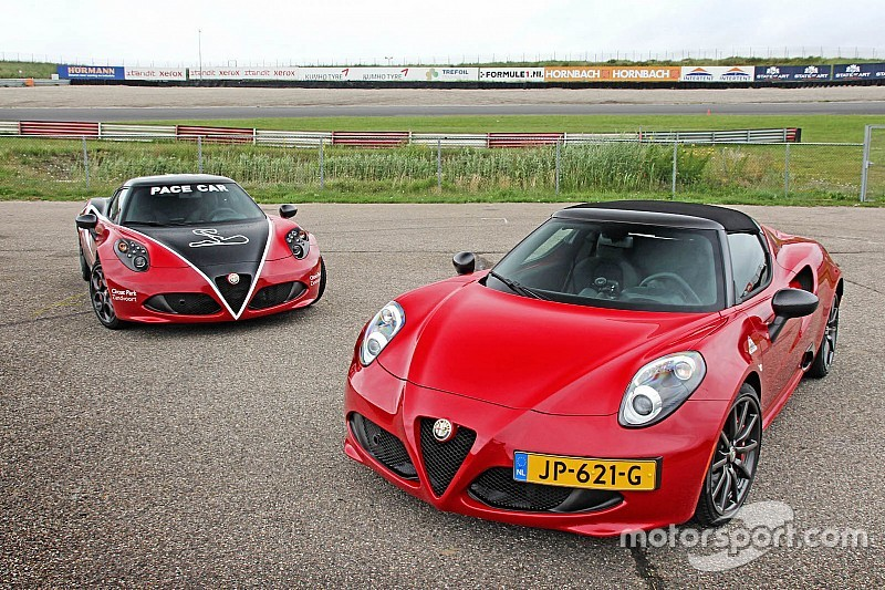 Alfa Romeo 4C CPZ Track Edition: uniek speeltje komt naar Nederland