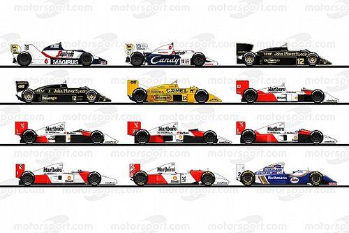 GALERÍA: los autos de Ayrton Senna en la F1