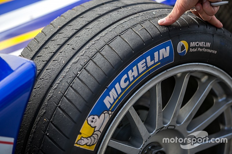 Michelin to provide new Formula E tyres in season three