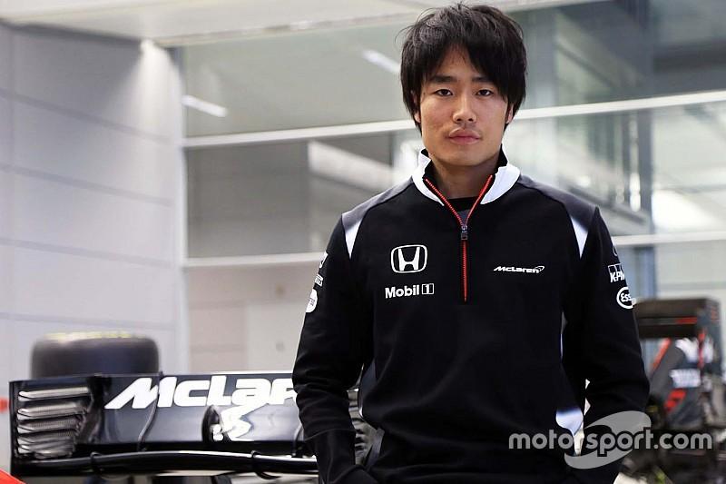 Matsushita fue nombrado piloto de pruebas de McLaren
