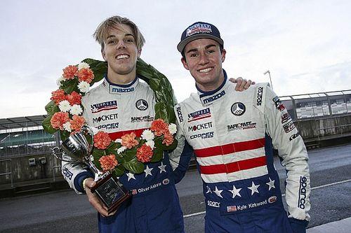 Team USA drivers Askew, Kirkwood excel at Silverstone