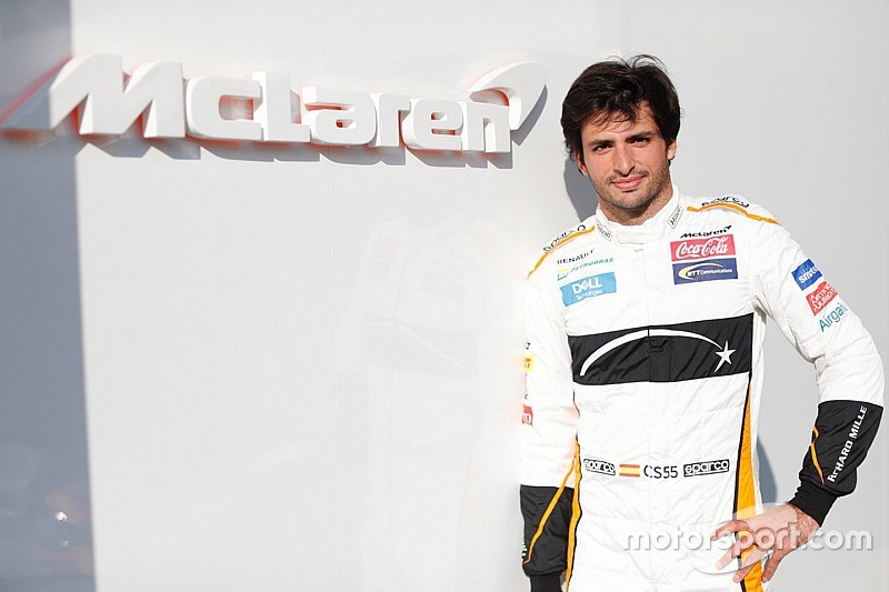 McLaren'ın sunumu, Sainz'ı ikna etmiş