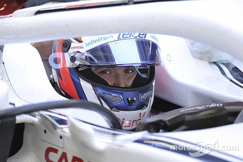 Tatiana Calderon absolviert 23 Runden im Sauber: