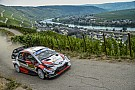Germany WRC: Tanak leads Ogier as Neuville slips to fourth