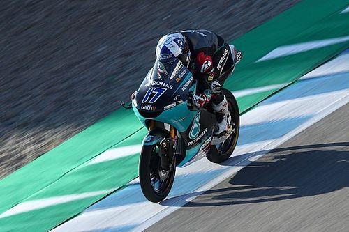 Hasil FP1 Moto3 Prancis: McPhee Tercepat, Andi Gilang Sempat Crash