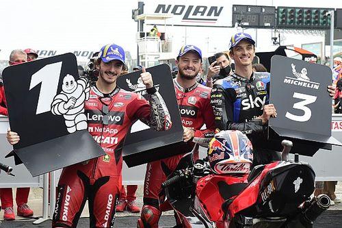 MotoGP-kwalificatieduels: De stand na de GP van Emilia-Romagna