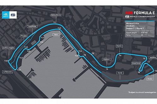 Formula E to race on adapted version of Monaco F1 layout