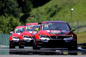 TCR Race report Craft-Bamboo Racing top five in difficult weekend at the Salzburgring