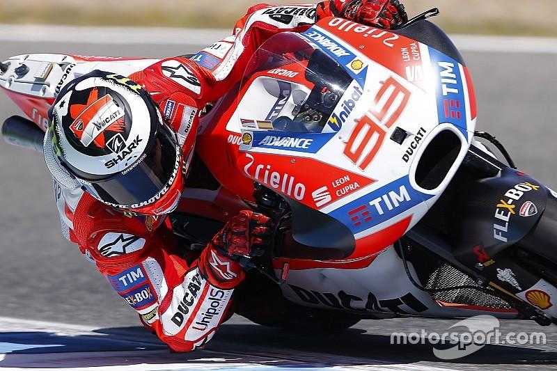 Lorenzo: Uso do freio traseiro é chave de melhora na Ducati