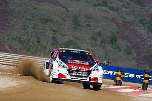 World Rallycross Réactions Loeb: