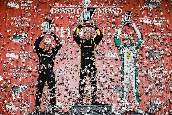 IndyCar Hildebrand se emociona con su primer top tres en seis años