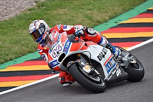 MotoGP Antrenman raporu Sachsenring MotoGP: İlk seansta Dovizioso lider, Rossi sorun yaşadı
