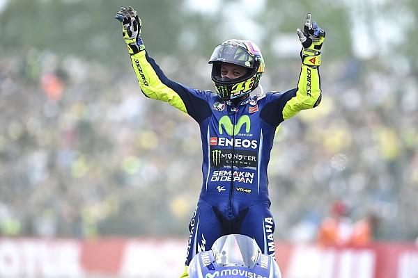 Los lectores de Motorsport.com eligen a Rossi como el mejor del GP de Holanda