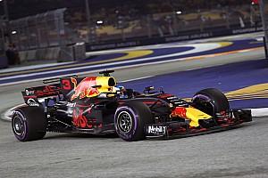 F1 Reporte de prácticas Red Bull confirma en los libres 2 que aspira a todo en Singapur