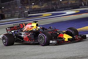 Formule 1 Réactions En tête des deux séances, Ricciardo