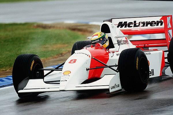 Vor 24 Jahren: Die legendäre F1-Startrunde von Ayrton Senna in Donington