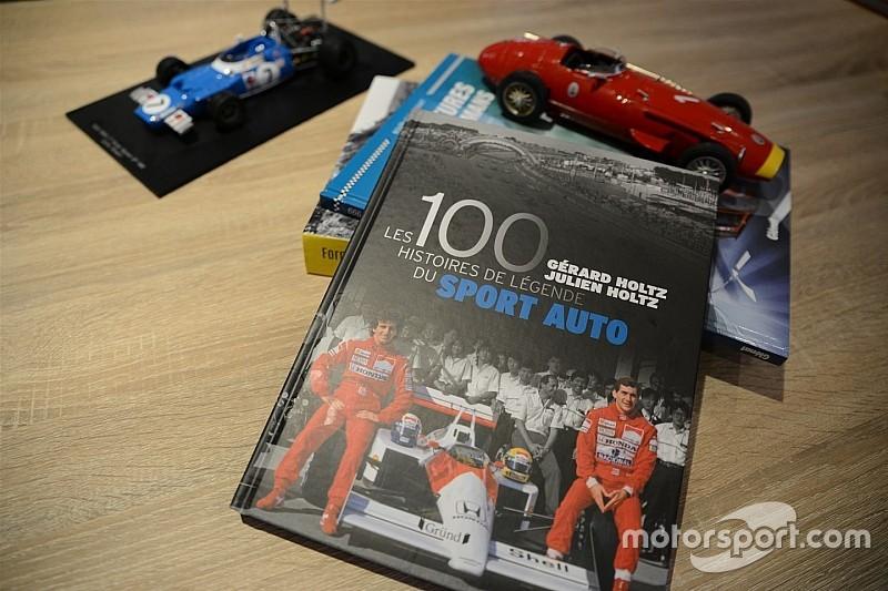 Les 100 histoires de légende du sport auto, par Gérard et Julien Holtz