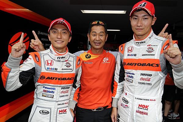 Super GT Qualifying report Sugo Super GT: Nojiri leads Honda 1-2-3 in qualifying