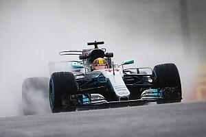 Formula 1 Practice report Japanese GP: Hamilton tops second practice washout