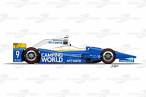 Galería: así serán las 32 decoraciones que acompañarán a Alonso en Indy 500
