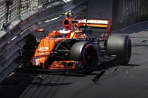 Formule 1 Réactions Vandoorne signe sa meilleure qualification malgré son crash