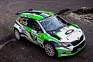 Rubata la Skoda Fabia R5 di Max Rendina prima dell'Acropolis Rally!