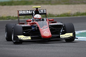 GP3 Testing report Hubert tops first Jerez GP3 test day by 0.022s