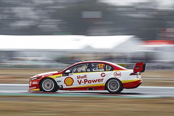 Supercars Winton Supercars: McLaughlin grabs Sunday pole