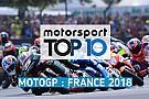 MotoGP Vidéo - Le top 10 du GP de France