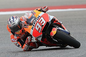 MotoGP Practice report Austin MotoGP: Marquez leads Rossi in first practice