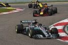 Hamilton no estuvo en su mejor forma en China, dicen en Mercedes