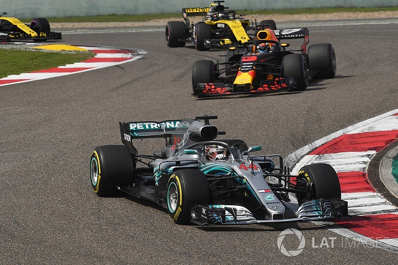 A Mercedes szerint Hamilton a hétvégén
