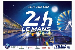 Le Mans Breaking news Le Mans 24 Hours 2018 poster unveiled