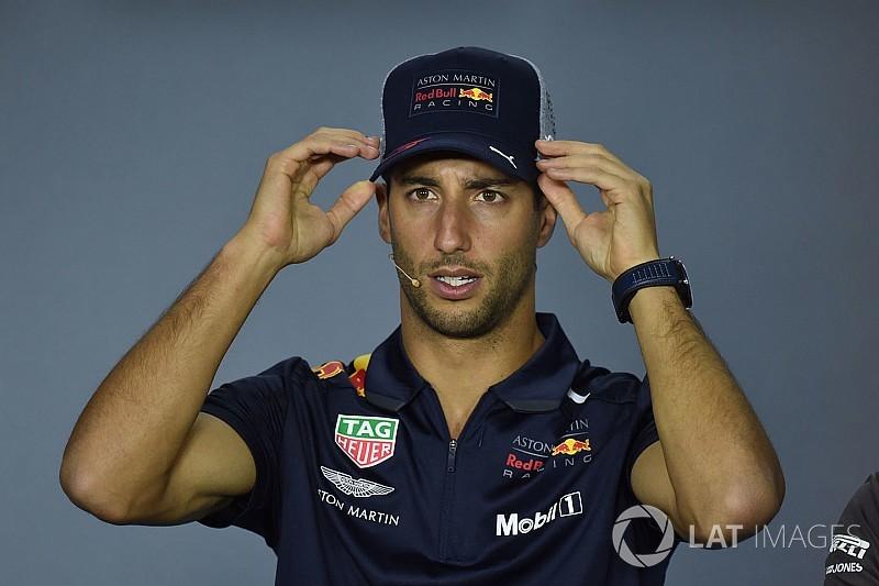 Ricciardo nie l'existence d'un pré-contrat avec Ferrari