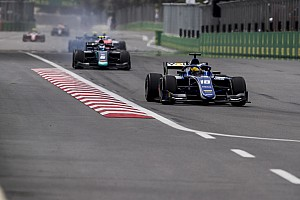 FIA F2 Breaking news Sette Camara stripped of Baku F2 podium finish