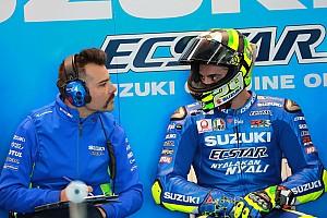 Tercepat di hari pertama, Iannone puas dengan peningkatan Suzuki